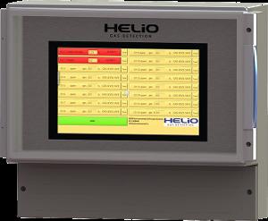 helio gas detector